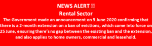 Rental Sector News Alert from LMP Law
